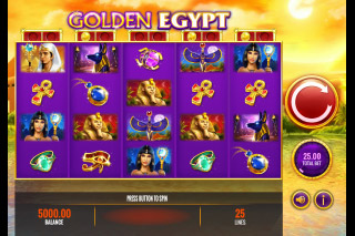 Golden Egypt Mobile Slot Machine