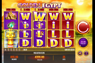 Golden Egypt Mobile Slot Wilds