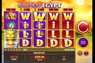 Golden Egypt Mobile Slot Wilds