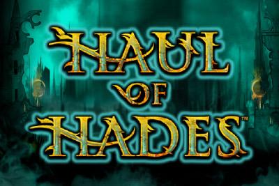Haul Of Hades Mobile Slot Logo