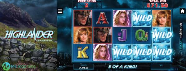 Highlander Slot Machine Free Spins With Wilds