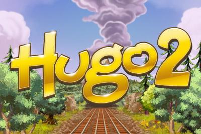 Hugo 2 Mobile Slot Logo
