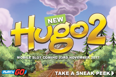 New Hugo 2 Mobile Slot Coming 23rd November 2017