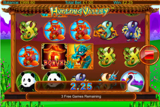 Huolong Valley Mobile Slot Reels