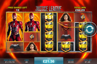 Justice League Slot Flash Free Spins