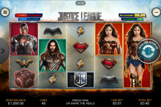 Justice League Mobile Slot Machine