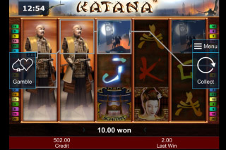 Katana Mobile Slot Free Spins