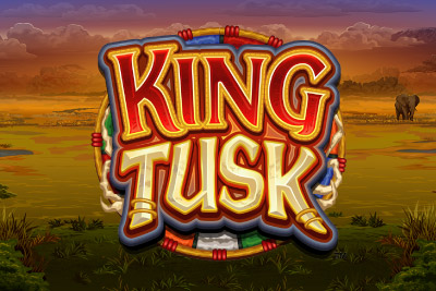 King Tusk Mobile Slot Logo