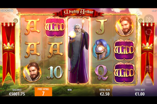 Mighty Arthur Mobile Slot Free Spins