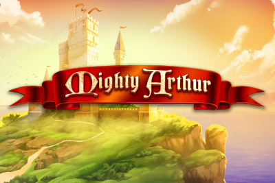 Mighty Arthur Mobile Slot Logo