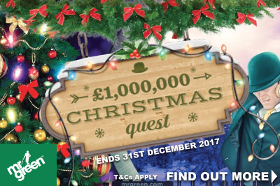 Join In The Fun In The Mr Green Casino Christmas Quest