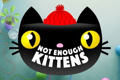 Not Enough Kittens Mobile Slot Logo