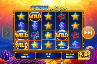 Ocean Magic Mobile Slot Wilds