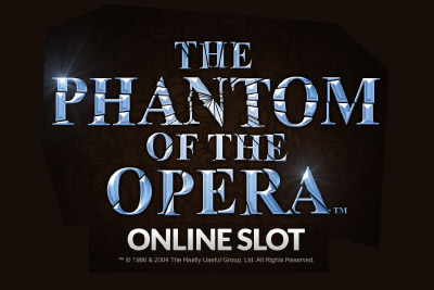 The Phantom Of The Opera Mobile Slot Logo