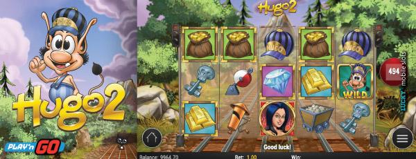 Hugo 2 Mobile Slot Machine