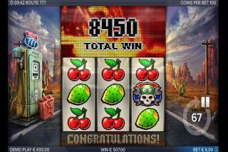 Route 777 Mobile Slot Big Win