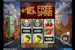 Route 777 Mobile Slot Free Spins