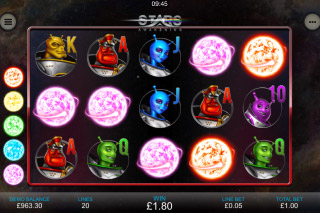 Stars Awakening Mobile Slot Machine
