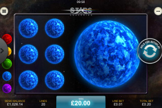 Stars Awakening Mobile Slot Bonus Win