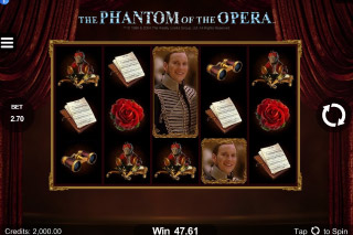 The Phantom Of The Opera Mobile Slot Machine