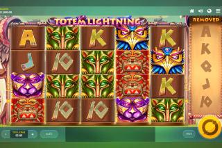 Totem Lightning Mobile Slot Machine