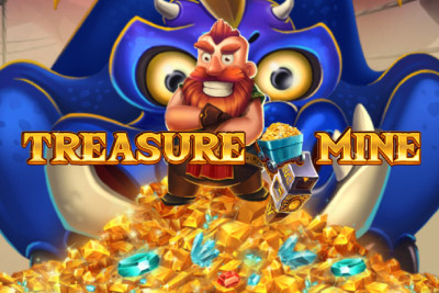 Treasure Mine Mobile Slot Logo