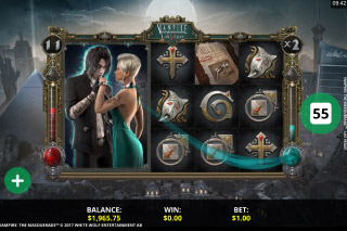 Vampire The Masquerade Las Vegas Slot Game
