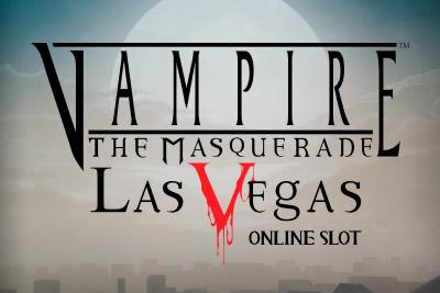 Vampire The Masquerade Las Vegas Slot Logo