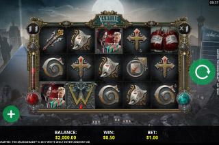 Vampire The Masquerade Las Vegas Slot Machine