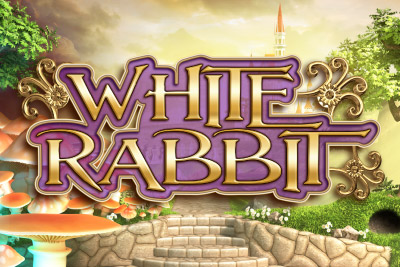 White Rabbit Mobile Slot Logo