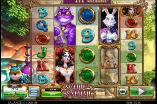 White Rabbit Mobile Slot Machine