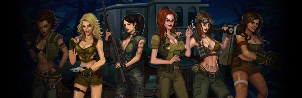girls with guns - jungle heat casino