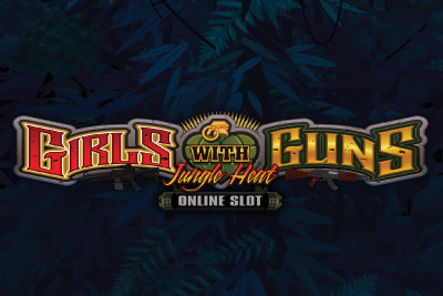 Girls With Guns Jungle Heat Mobile Slot Logo