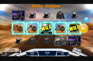 Harley Davidson Freedom Tour Mobile Slot Wilds