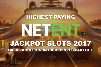 Highest Paying NetEnt Jackpot Slots In 2017