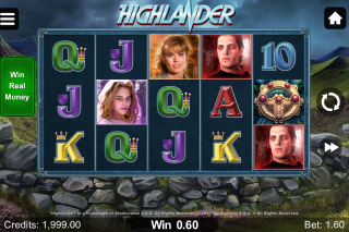 Hihghlander Mobile Slot Machine
