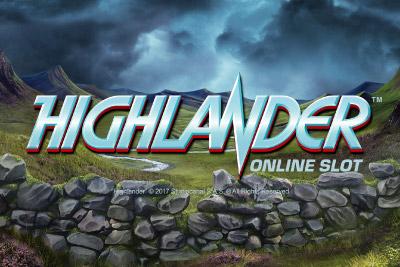 Hihghlander Mobile Slot Logo