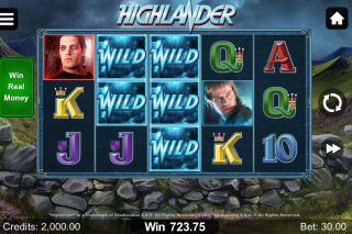 Hihghlander Mobile Slot Wilds