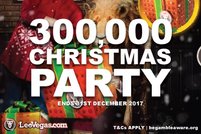 Join The 2017 Leo Vegas Casino Christmas Party
