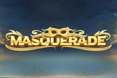 Masquerade Mobile Slot Logo