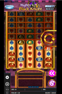 Mighty Black Knight Mobile Slot Machine