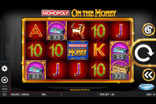 Monopoly On The Money Slot Base Game