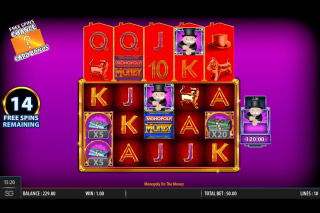 Monopoly On The Money Slot Big Bet Free Spins