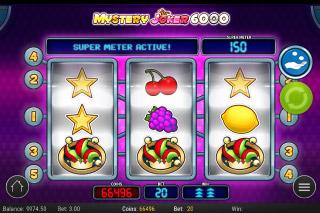 Mystery Joker Mobile Slot Bonus
