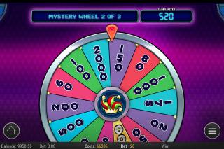 Mystery Joker Mobile Slot Mystery Wheel