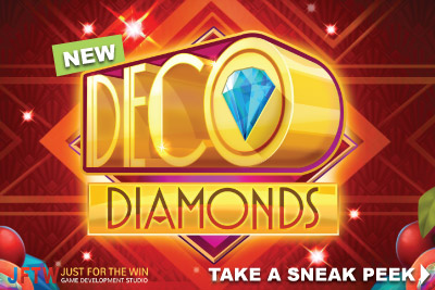 New Deco Diamonds Mobile Slot Coming January 2018