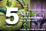 New NetEnt Slots Machines Coming In 2018