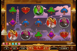 Orient Express Mobile Slot Machine Paris