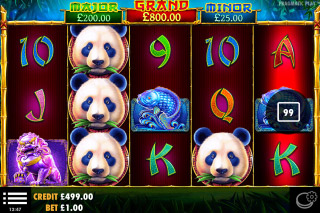 Pandas Fortune Mobile Slot Machine