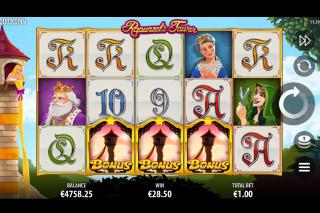 Rapunzels Tower Mobile Slot Bonus Scatters